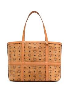 MCM - Medium Delmy Shopper in Visetos -laukku - CO COGNAC | Stockmann