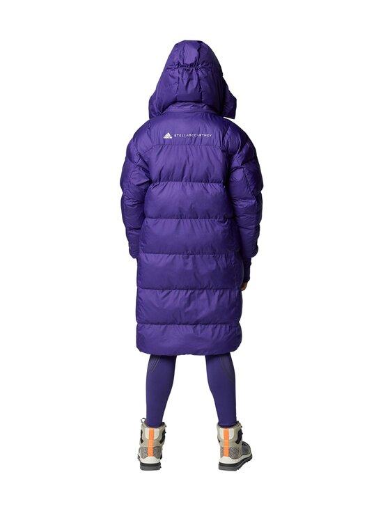 adidas by Stella McCartney - Long Puffer -toppatakki - COLLEGIATE PURPLE | Stockmann - photo 4