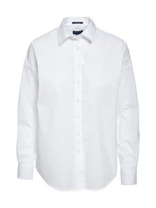 GANT - Tech Prep™ Broadcloth Oversized Solid -pusero - 110 WHITE | Stockmann