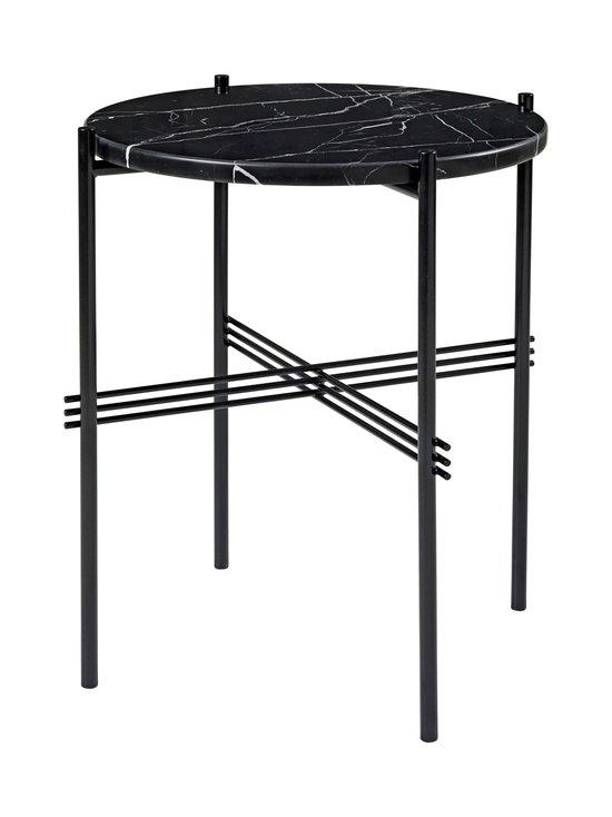Gubi - TS Side Table -sohvapöytä ⌀ 40 cm - BLACK MARQUINA MARBLE | Stockmann - photo 1