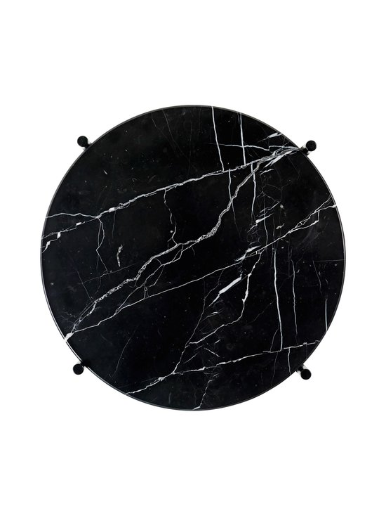 Gubi - TS Side Table -sohvapöytä ⌀ 40 cm - BLACK MARQUINA MARBLE | Stockmann - photo 2