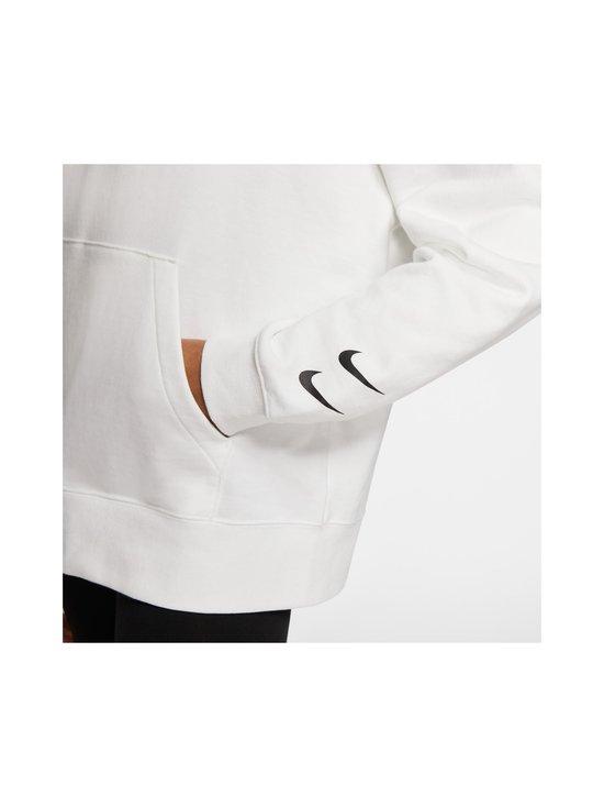 Nike - W Sportswear Swoosh Hoodie -huppari - 100 WHITE/BLACK | Stockmann - photo 7