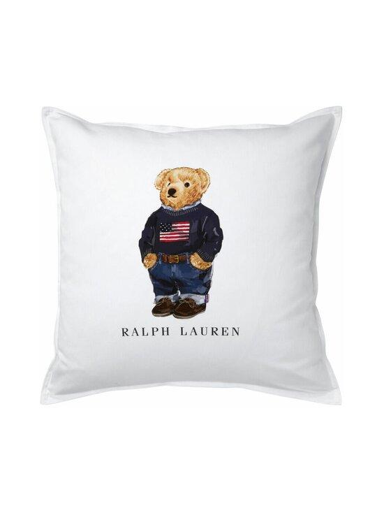 Ralph Lauren Home - Flag Sweater Bear Cushion Cover -tyynynpäällinen 50 x 50 cm - WHITE | Stockmann - photo 1