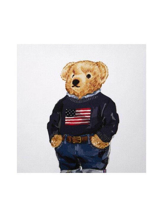 Ralph Lauren Home - Flag Sweater Bear Cushion Cover -tyynynpäällinen 50 x 50 cm - WHITE | Stockmann - photo 2