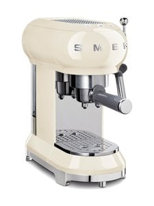 Smeg - ECF01CREU-espressokeitin - LUONNONVALKOINEN | Stockmann