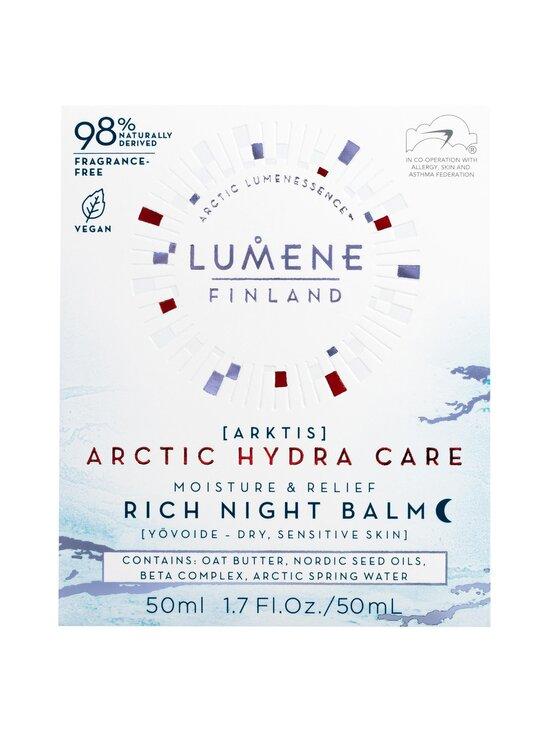 Lumene - ARKTIS Moisture & Relief Rich Night Balm -yövoide 50 ml - NOCOL | Stockmann - photo 2