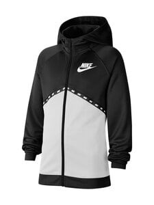 Nike - Sportswear Hoodie -hupparitakki - BLACK/WHITE/WHITE | Stockmann