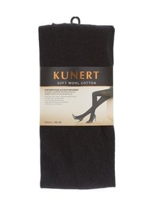 Kunert - Soft Wool Cotton -sukkahousut - MUSTA | Stockmann