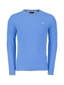GANT - Puuvillaneule - 445 PACIFIC BLUE | Stockmann