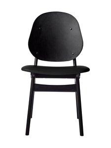 Warm Nordic - Noble Dining -tuoli - BLACK PRESCOTT LEATHER | Stockmann