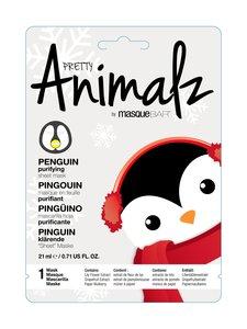 Masque Bar - Pretty Animalz Holiday Penguin Purifying Sheet Mask -kasvonaamio - null | Stockmann