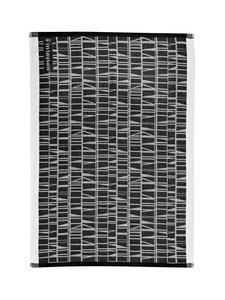 Finlayson - Coronna-keittiöpyyhe 50 x 70 cm, 2 kpl - MUSTA/VALKOINEN | Stockmann
