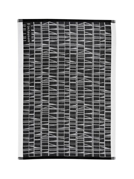 Finlayson - Coronna-keittiöpyyhe 50 x 70 cm, 2 kpl - MUSTA/VALKOINEN | Stockmann - photo 1