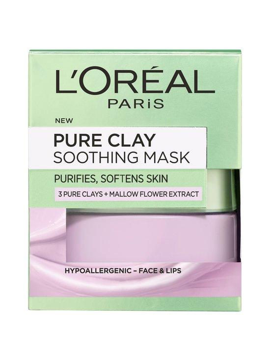 L'Oréal Paris - Pure Clay Soothing Mask -kasvonaamio 50 ml - NOCOL | Stockmann - photo 2