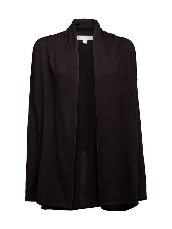 Esprit - Puuvillaneuletakki - 001 BLACK | Stockmann - photo 1