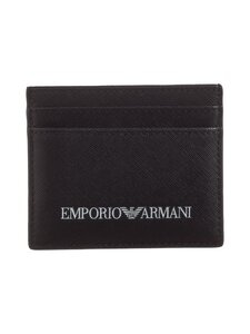 Emporio Armani - Credit Card Holder -korttikotelo - 81072 BLACK | Stockmann