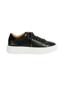 Ted Baker London - Yinka Leather Platform Trainer -nahkasneakerit - 00 BLACK | Stockmann