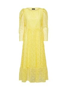 Selected - SlfMya LS Ankle Dress -mekko - GREEN SHEEN | Stockmann