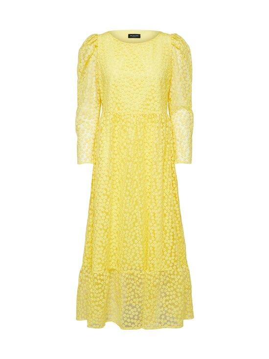 Selected - SlfMya LS Ankle Dress -mekko - GREEN SHEEN | Stockmann - photo 1