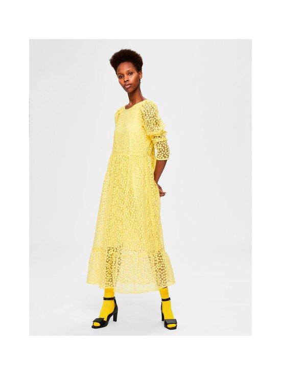 Selected - SlfMya LS Ankle Dress -mekko - GREEN SHEEN | Stockmann - photo 3