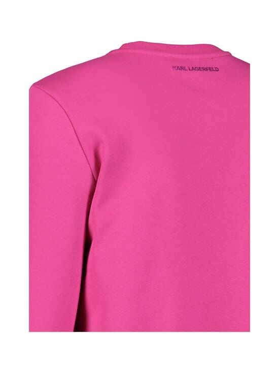 Karl Lagerfeld - Mini Ikonik Karl Sweatshirt -collegepaita - ROSE VIOLET | Stockmann - photo 4
