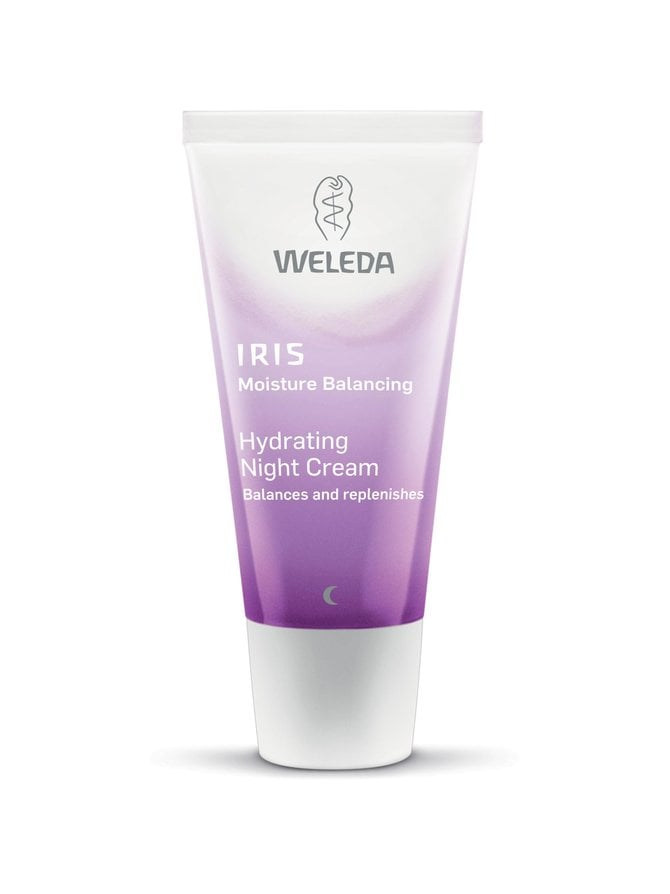 Iris Hydrating Night Cream -yövoide 30 ml