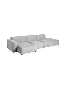 HAY - Mags Soft 3 Seater Combination 4 Low Armrest Left End -sohva - LINARA 443/ DARK GREY STICHING | Stockmann