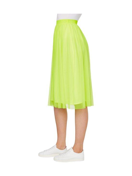 Calvin Klein Jeans - Double Layer Mesh Skirt -hame - ZAA SAFETY YELLOW | Stockmann - photo 4
