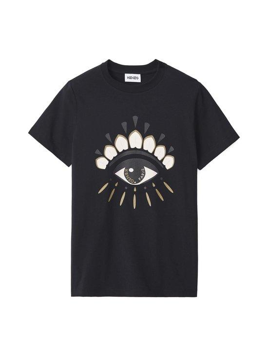 Kenzo - Classic T-Shirt Eye -paita - 99 - LIGHT SINGLE JERSEY CLASSIC EY - BLACK | Stockmann - photo 1
