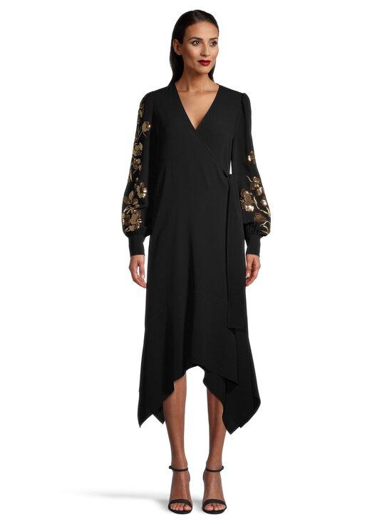 Tory Burch - Embroidered Wrap Dress -mekko - 001 BLACK | Stockmann - photo 2