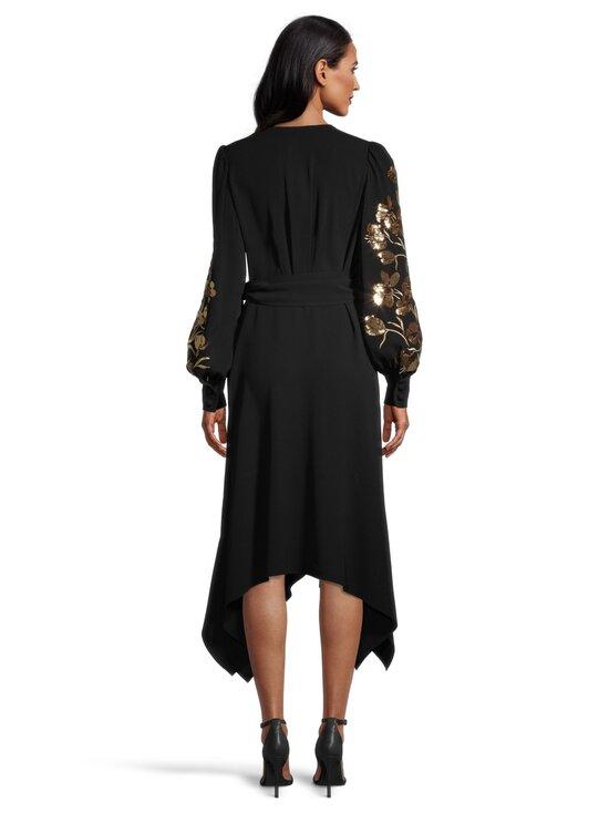 Tory Burch - Embroidered Wrap Dress -mekko - 001 BLACK | Stockmann - photo 3