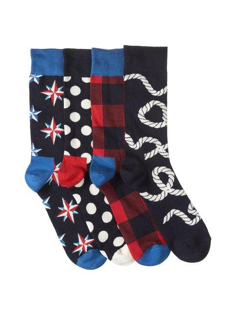 Happy Socks – Nautical-sukat 4-pack