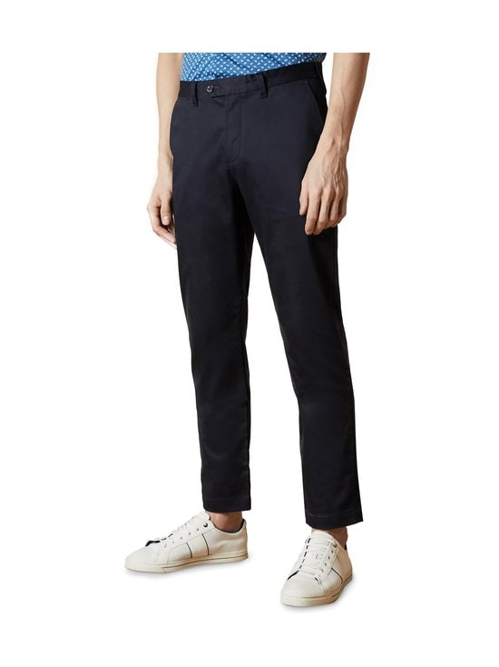 Ted Baker London - Smile Slim Fit Satin Finish Chinos -chinot - 10 NAVY   Stockmann - photo 2