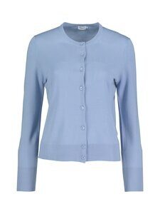 Filippa K - Merino Short Cardigan -neuletakki - 9076 FADED BLUE | Stockmann