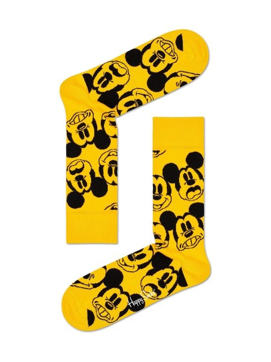 Happy Socks - Disney Face It Mickey -sukat - 2200-YELLOW   Stockmann - photo 1