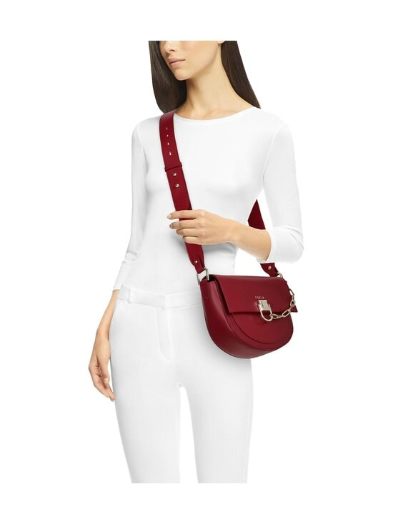 Furla - Miss Mimi Mini Crossbody -nahkalaukku - CGQ00 CILIEGIA D | Stockmann - photo 4