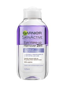 Garnier - Skin Active 2-in-1 -silmämeikinpoistoaine 125 ml | Stockmann