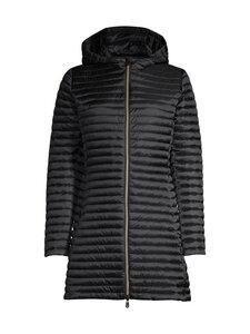 Save The Duck - IRIS jt w hood longer shiny DEC -kevyttoppatakki - 10000 BLACK | Stockmann