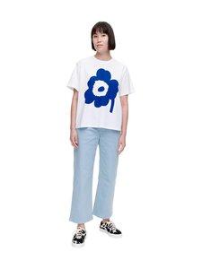 Marimekko - Vaikutus Unikko -t-paita - 015 WHITE NAVY | Stockmann