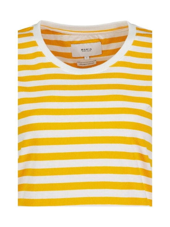 Makia - Verkstad-paita - 260 YELLOW-WHITE | Stockmann - photo 2