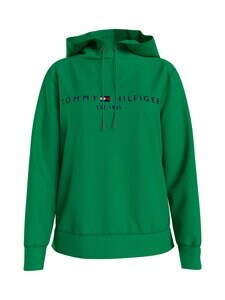 Tommy Hilfiger - TH Essential Drawstring -huppari - L14 PRIMARY GREEN | Stockmann