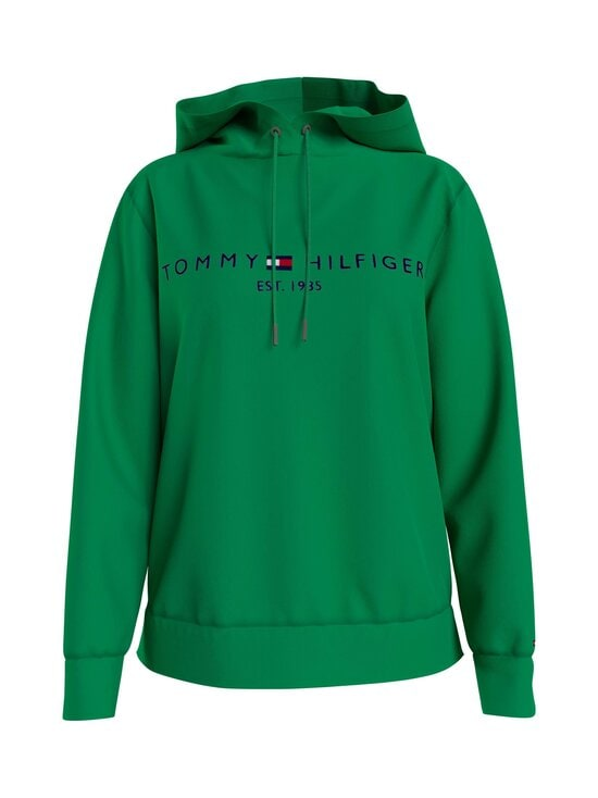 Tommy Hilfiger - TH Essential Drawstring -huppari - L14 PRIMARY GREEN | Stockmann - photo 1