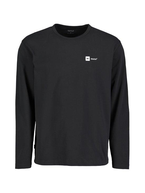 Makia - Dylan Long Sleeve -paita - 999 BLACK | Stockmann - photo 1