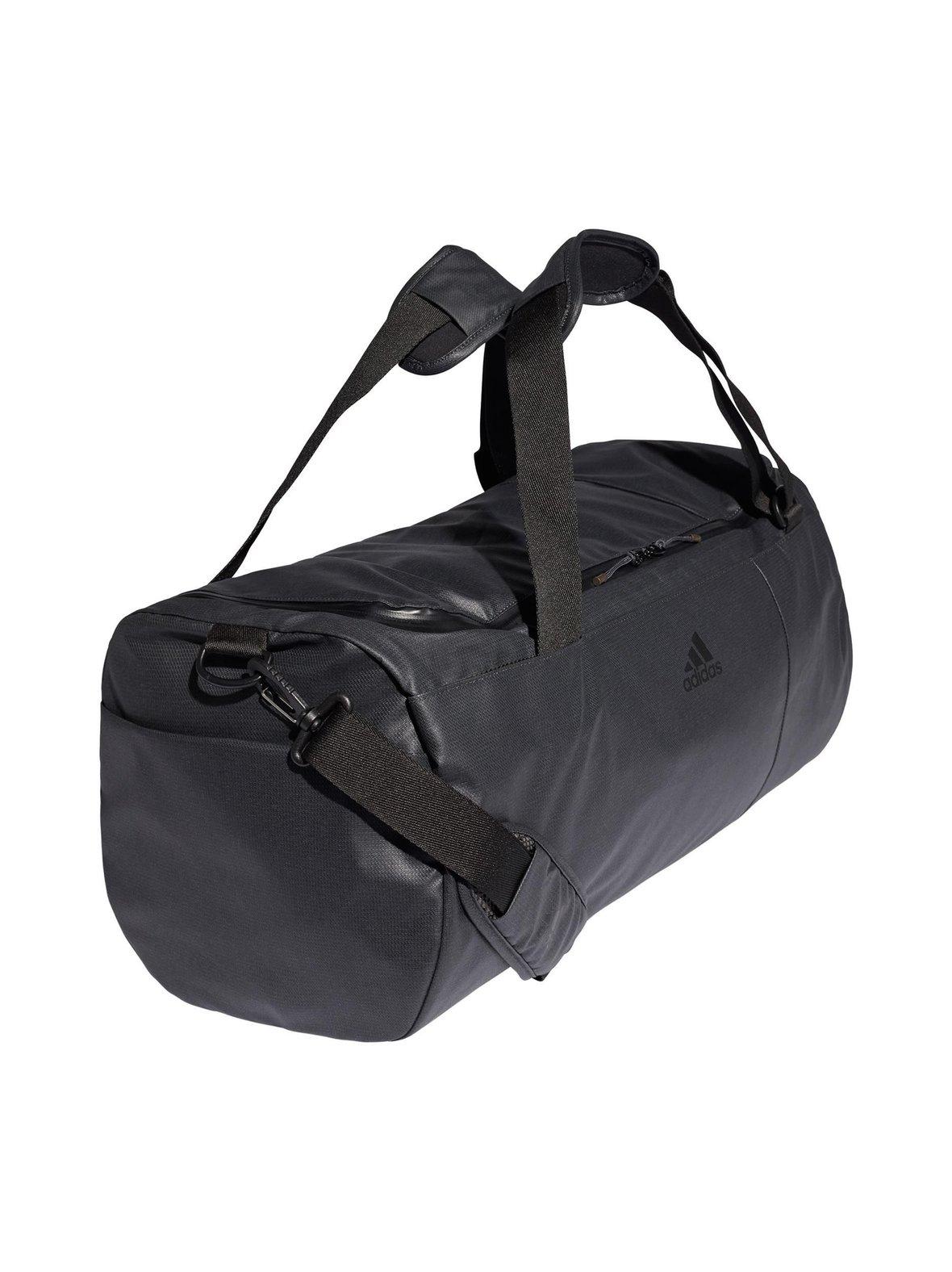 Carbon (tummanharmaa) Adidas Performance Convertible Training Duffel ... 9dd271300c