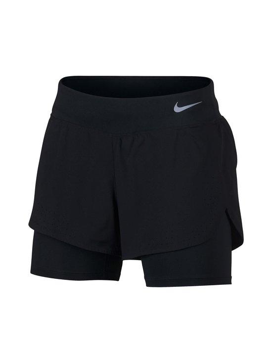 Nike - W Eclipse 2-in-1 Running -shortsit - BLACK/REFLECTIVE SILV   Stockmann - photo 1