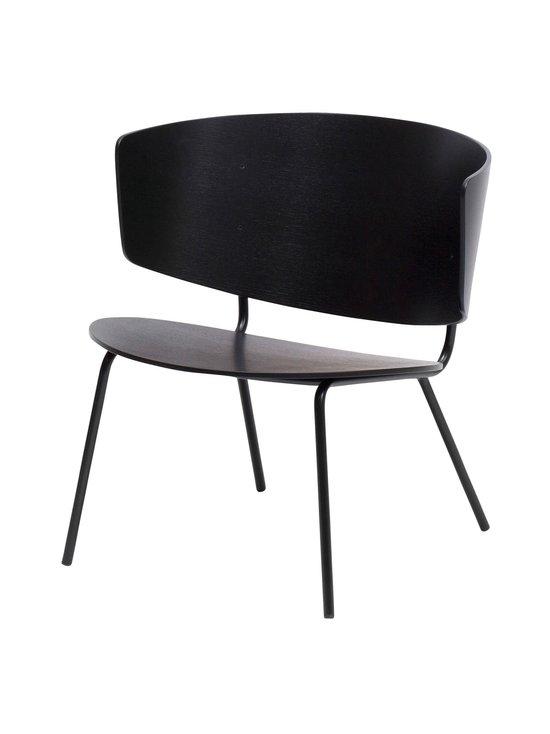 Ferm Living - Herman Lounge -tuoli - BLACK | Stockmann - photo 1