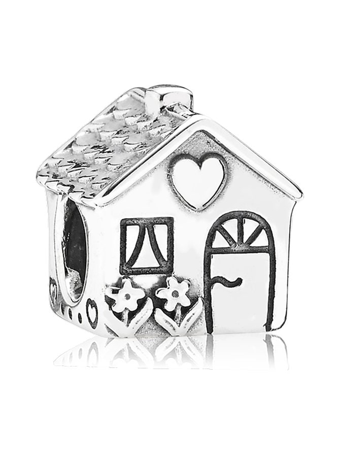 Family Home Silver Charm