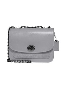 Coach - Madison Shoulder Bag -nahkalaukku - V5/GRANITE | Stockmann