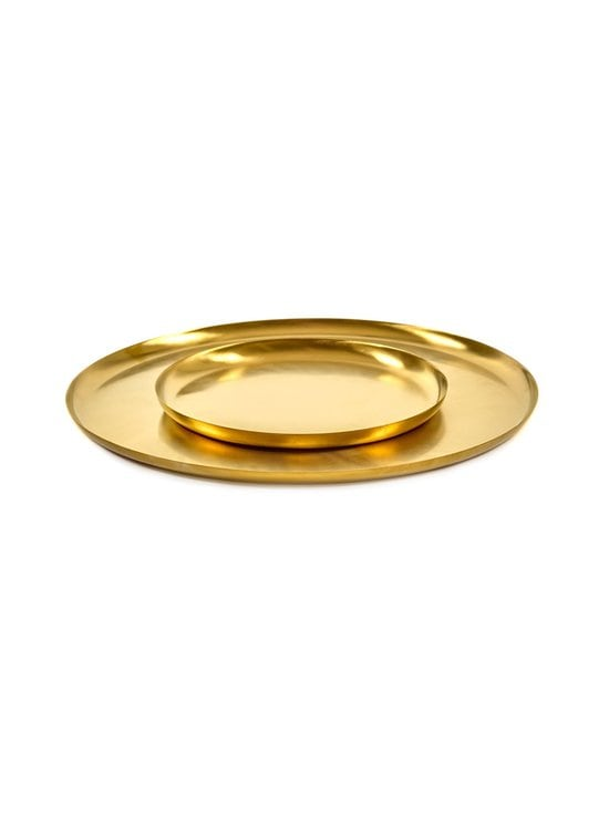 Serax - Table Accessories -tarjoilulautanen ⌀ 22 cm - GOLD | Stockmann - photo 2