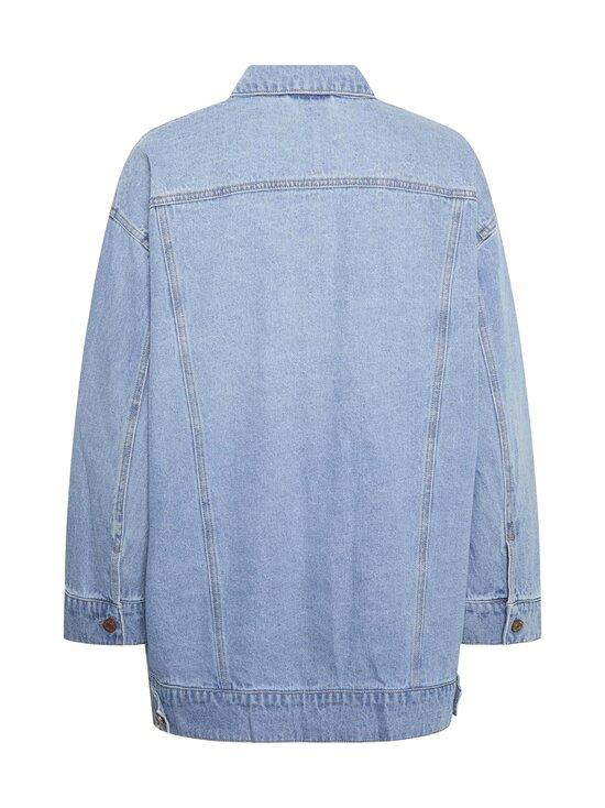 Noisy may - NmFiona L/S Denim Jacket -farkkutakki - LIGHT BLUE DENIM | Stockmann - photo 2